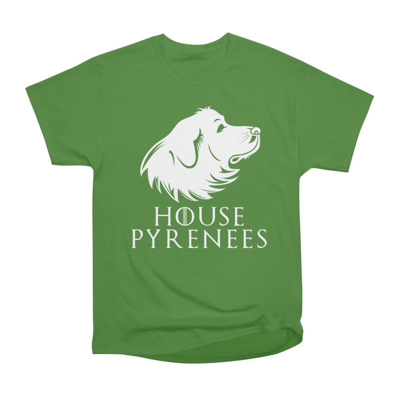 House Pyrenees Men's Classic T-Shirt by Carolina Great Pyrenees Rescue's Shop