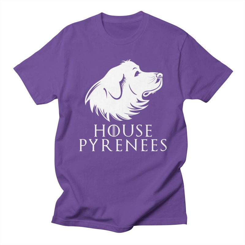 House Pyrenees Women's Unisex T-Shirt by Carolina Great Pyrenees Rescue's Shop