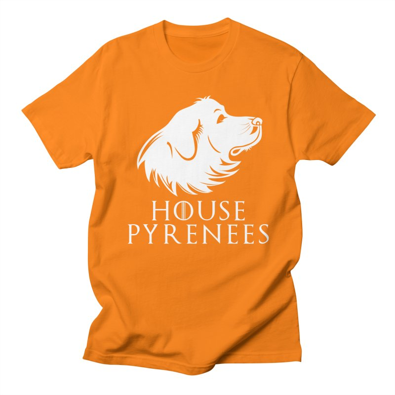 House Pyrenees Women's Regular Unisex T-Shirt by Carolina Great Pyrenees Rescue's Shop
