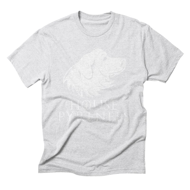 House Pyrenees Men's Triblend T-Shirt by Carolina Great Pyrenees Rescue's Shop