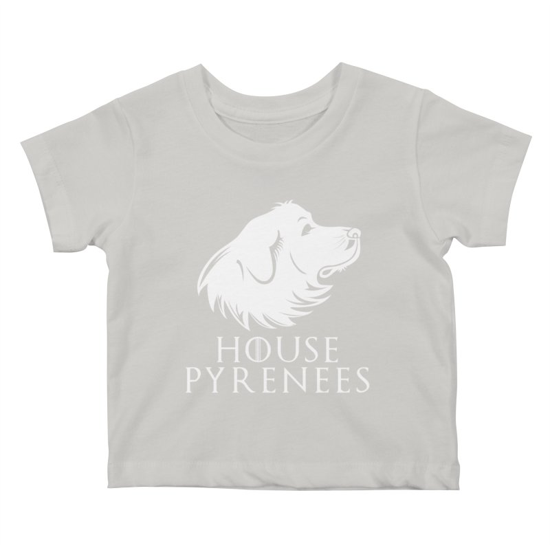 House Pyrenees Kids Baby T-Shirt by Carolina Great Pyrenees Rescue's Shop