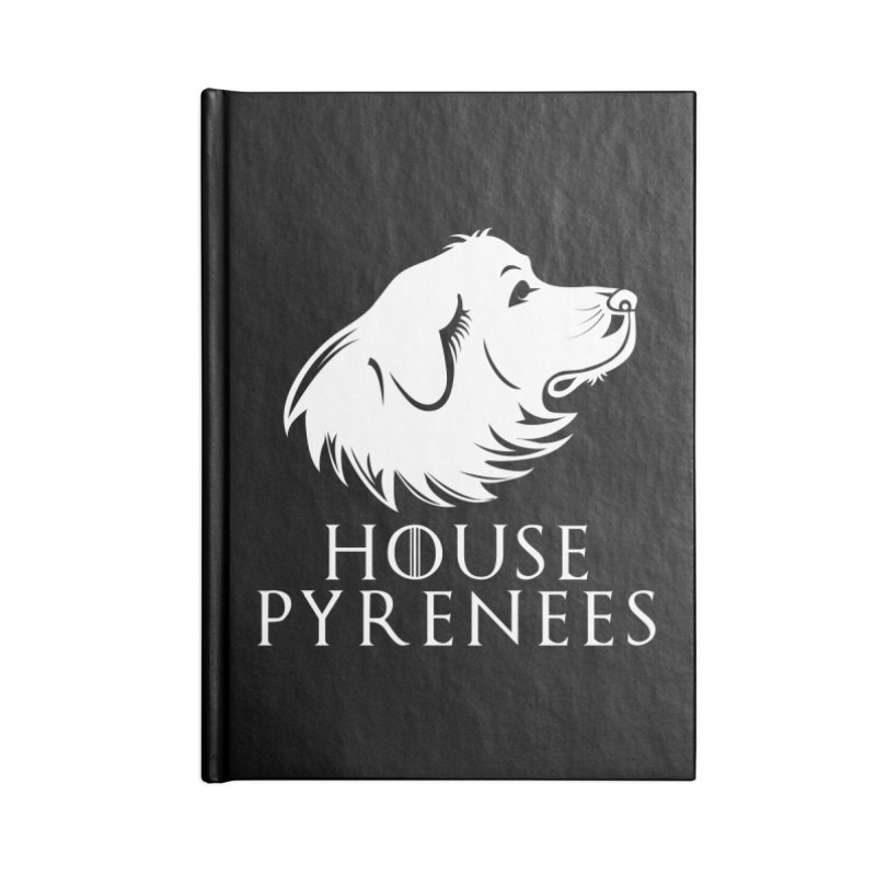 House Pyrenees Accessories Notebook by Carolina Great Pyrenees Rescue's Shop