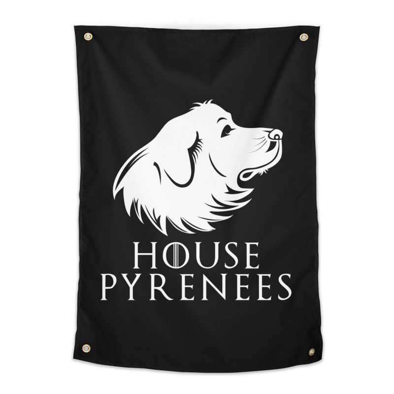 House Pyrenees Home Tapestry by Carolina Great Pyrenees Rescue's Shop