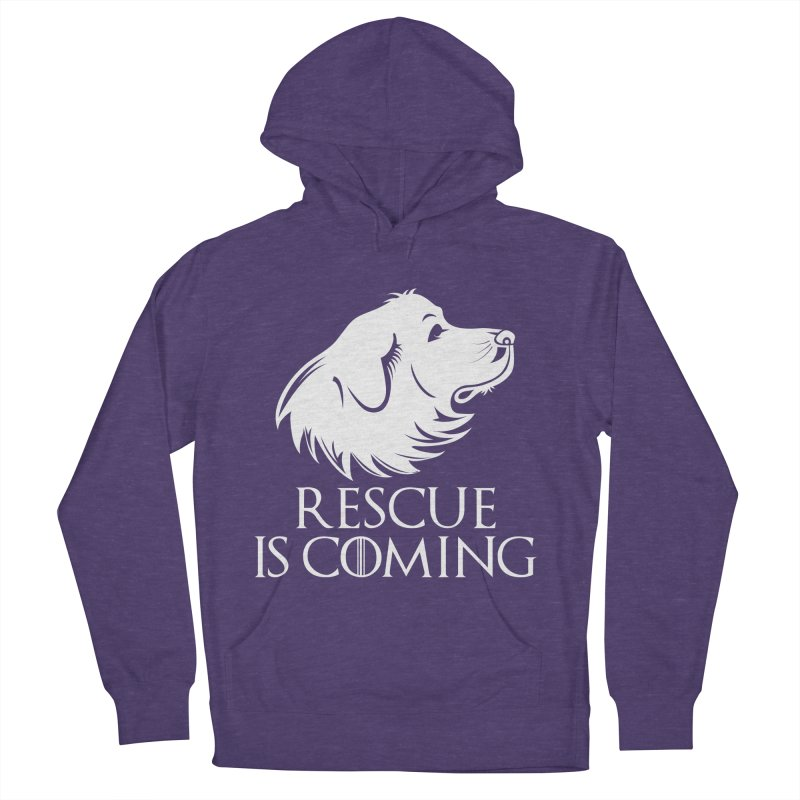 Rescue is Coming Women's Pullover Hoody by Carolina Great Pyrenees Rescue's Shop
