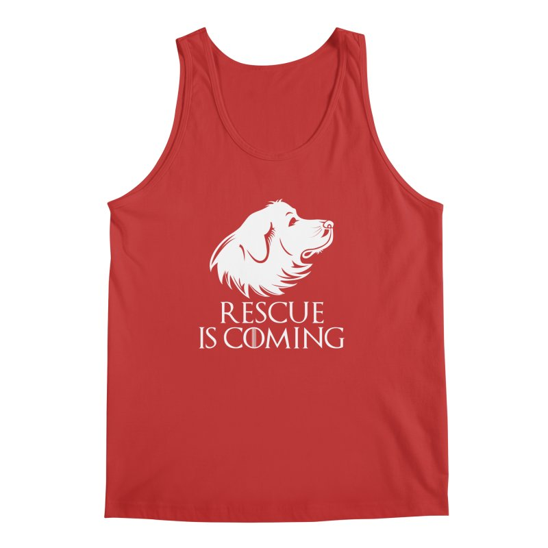 Rescue is Coming Men's Tank by Carolina Great Pyrenees Rescue's Shop
