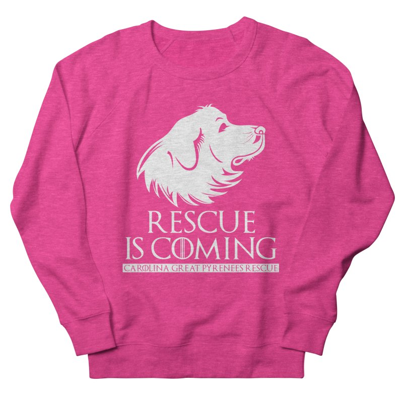 Rescue is Coming CGPR Men's Sweatshirt by Carolina Great Pyrenees Rescue's Shop
