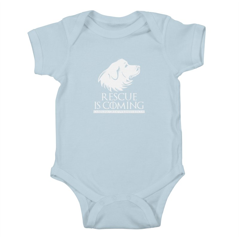 Rescue is Coming CGPR Kids Baby Bodysuit by Carolina Great Pyrenees Rescue's Shop
