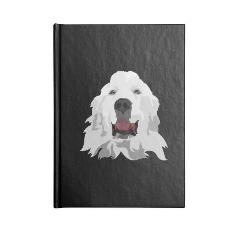 Greatest Pyr Accessories Notebook by Carolina Great Pyrenees Rescue's Shop