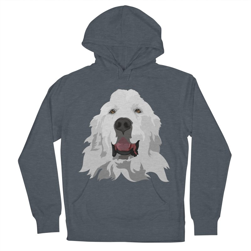 Greatest Pyr Women's Pullover Hoody by Carolina Great Pyrenees Rescue's Shop