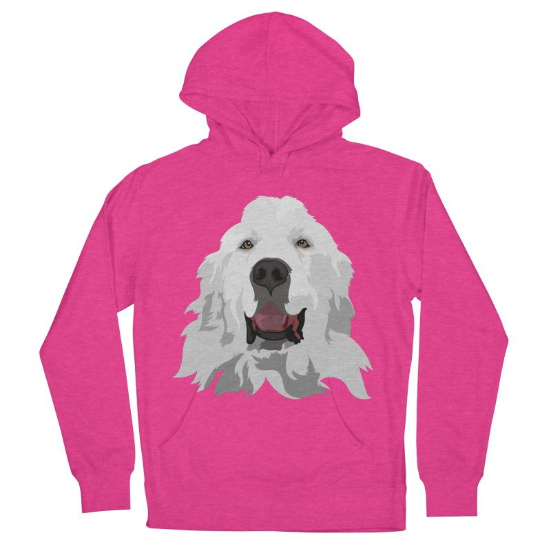 Greatest Pyr Men's Pullover Hoody by Carolina Great Pyrenees Rescue's Shop