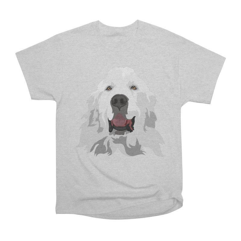 Greatest Pyr Women's Heavyweight Unisex T-Shirt by Carolina Great Pyrenees Rescue's Shop