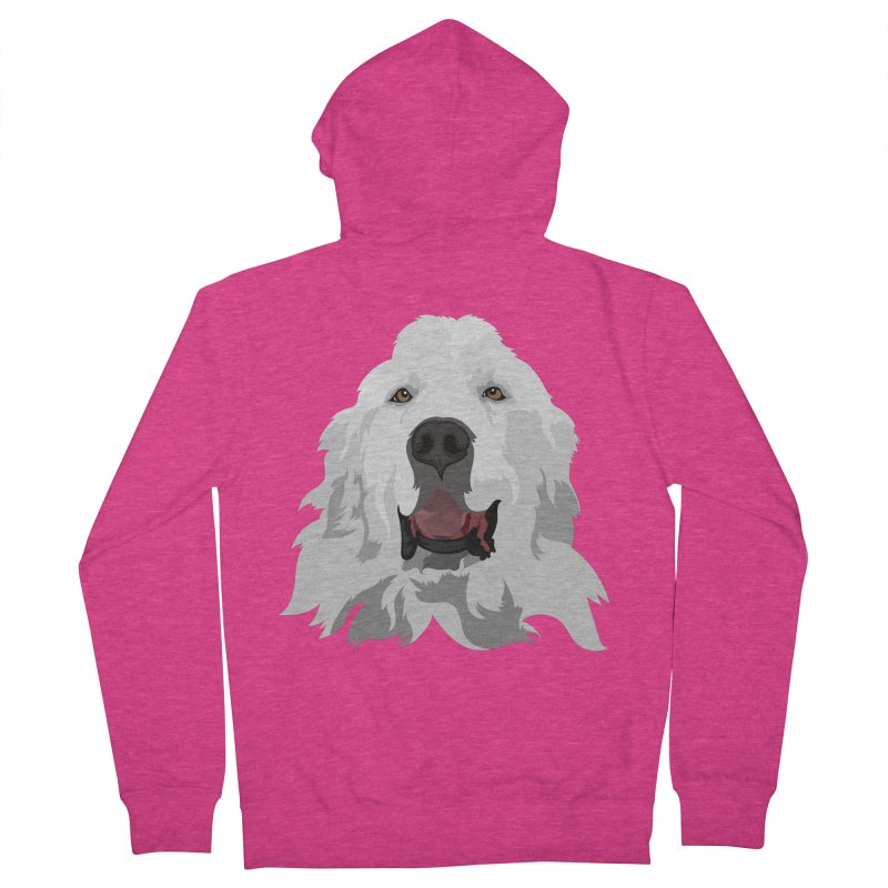 Greatest Pyr Women's Zip-Up Hoody by Carolina Great Pyrenees Rescue's Shop