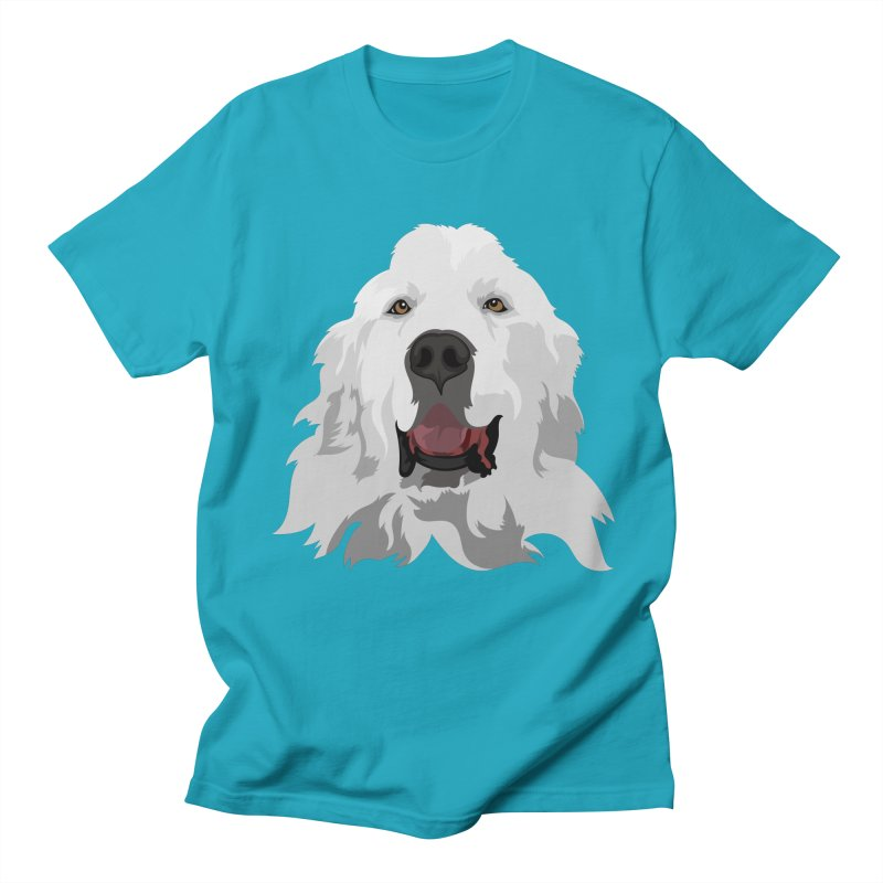 Greatest Pyr Women's Unisex T-Shirt by Carolina Great Pyrenees Rescue's Shop