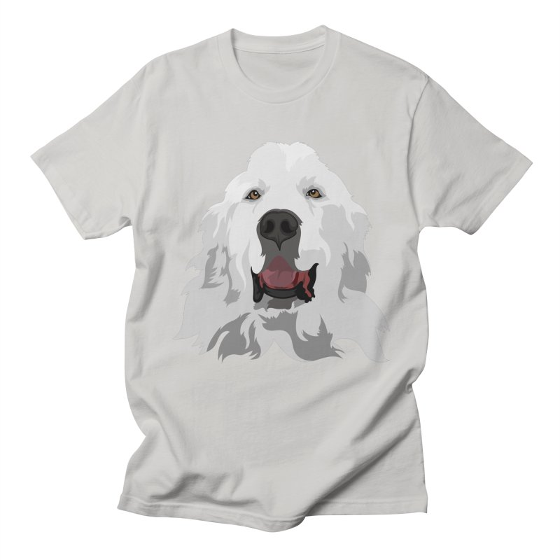 Greatest Pyr Men's T-Shirt by Carolina Great Pyrenees Rescue's Shop