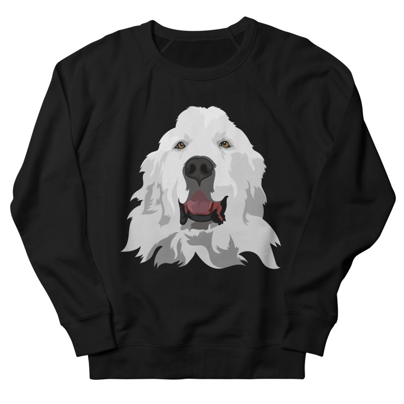 Greatest Pyr Men's Sweatshirt by Carolina Great Pyrenees Rescue's Shop