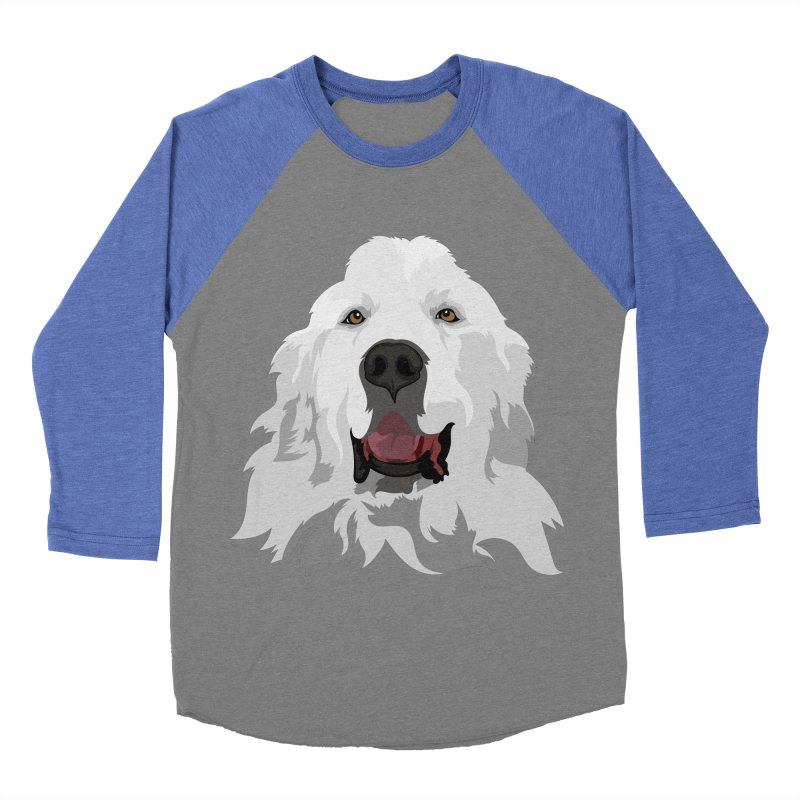 Greatest Pyr Women's Baseball Triblend T-Shirt by Carolina Great Pyrenees Rescue's Shop