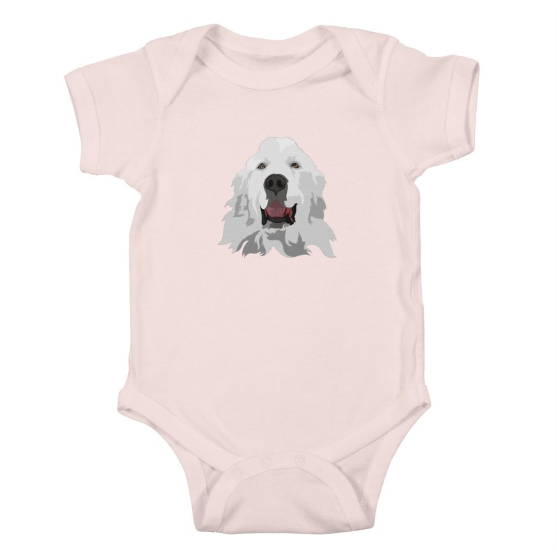 Greatest Pyr Kids Baby Bodysuit by Carolina Great Pyrenees Rescue's Shop