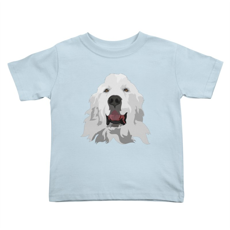 Greatest Pyr Kids Toddler T-Shirt by Carolina Great Pyrenees Rescue's Shop