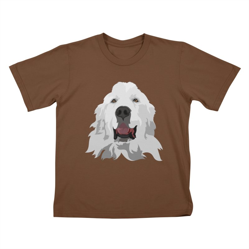 Greatest Pyr Kids T-Shirt by Carolina Great Pyrenees Rescue's Shop