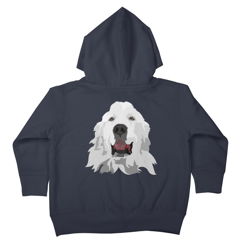 Greatest Pyr Kids Toddler Zip-Up Hoody by Carolina Great Pyrenees Rescue's Shop