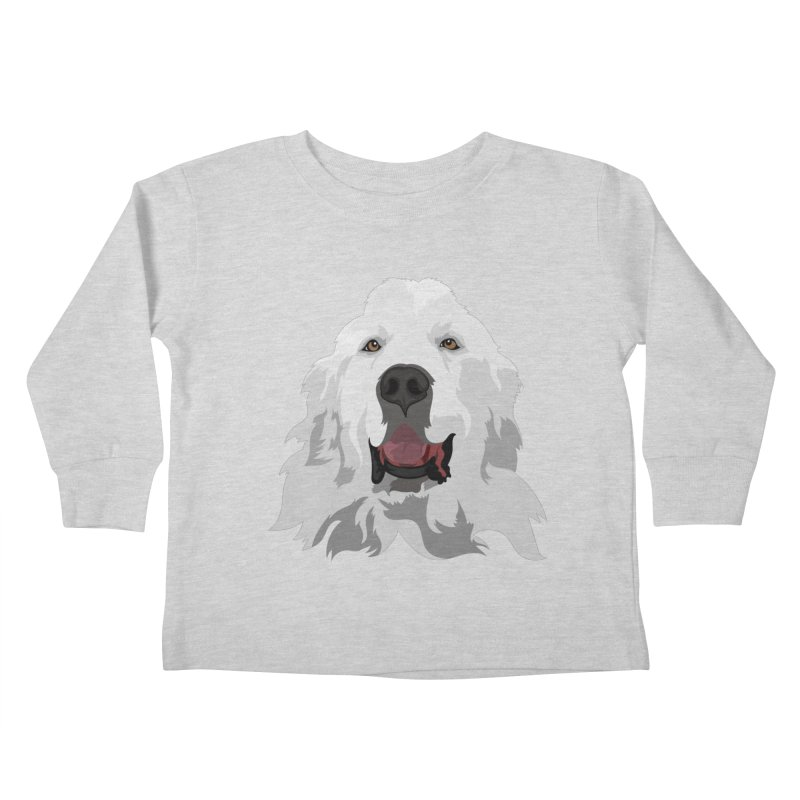 Greatest Pyr Kids Toddler Longsleeve T-Shirt by Carolina Great Pyrenees Rescue's Shop