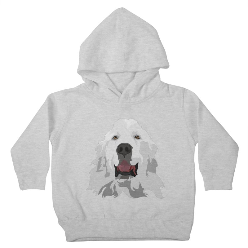 Greatest Pyr Kids Toddler Pullover Hoody by Carolina Great Pyrenees Rescue's Shop