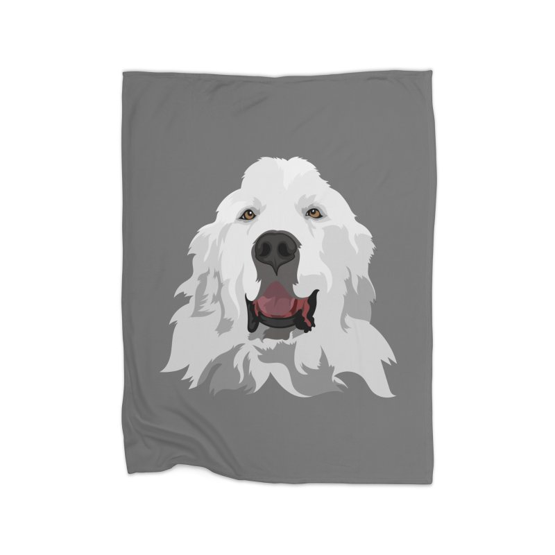 Greatest Pyr Home Blanket by Carolina Great Pyrenees Rescue's Shop