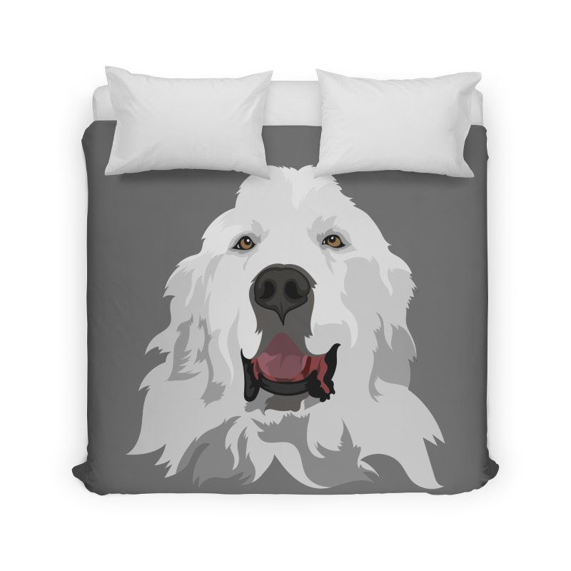 Greatest Pyr Home Duvet by Carolina Great Pyrenees Rescue's Shop