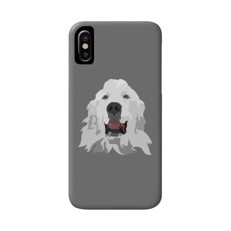 Greatest Pyr Accessories Phone Case by Carolina Great Pyrenees Rescue's Shop
