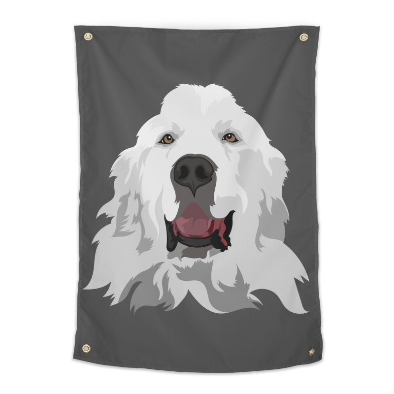 Greatest Pyr Home Tapestry by Carolina Great Pyrenees Rescue's Shop
