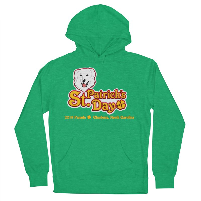 Parade 2018 Men's Pullover Hoody by Carolina Great Pyrenees Rescue's Shop