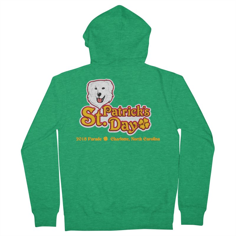 Parade 2018 Men's Zip-Up Hoody by Carolina Great Pyrenees Rescue's Shop