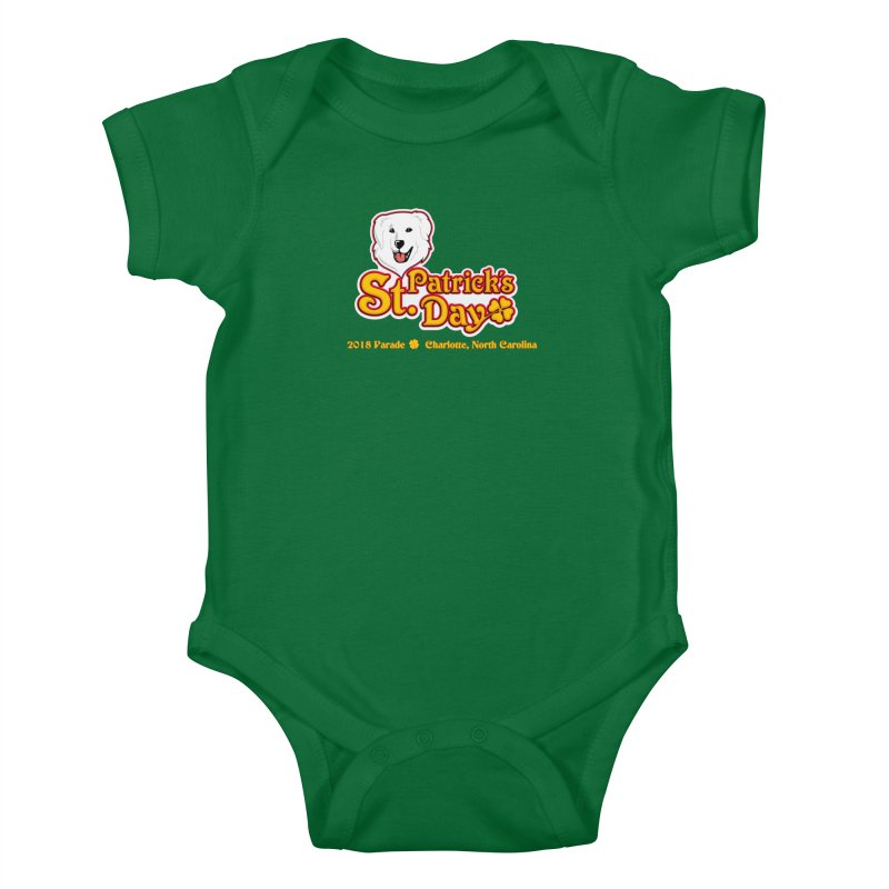Parade 2018 Kids Baby Bodysuit by Carolina Great Pyrenees Rescue's Shop