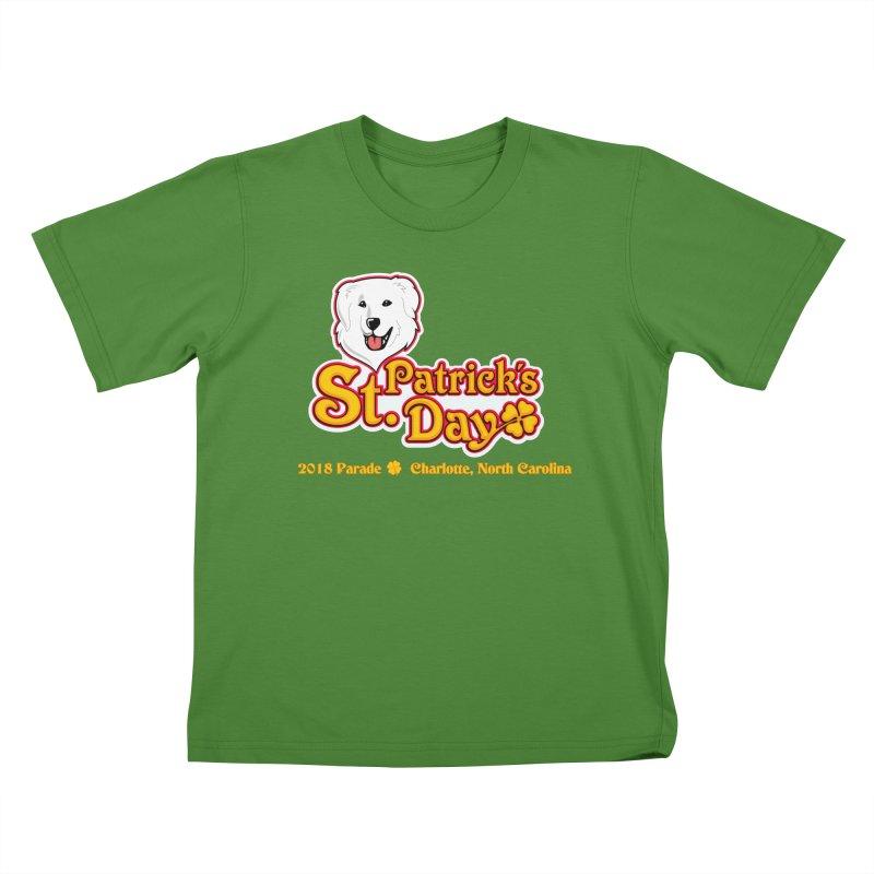 Parade 2018 Kids T-Shirt by Carolina Great Pyrenees Rescue's Shop