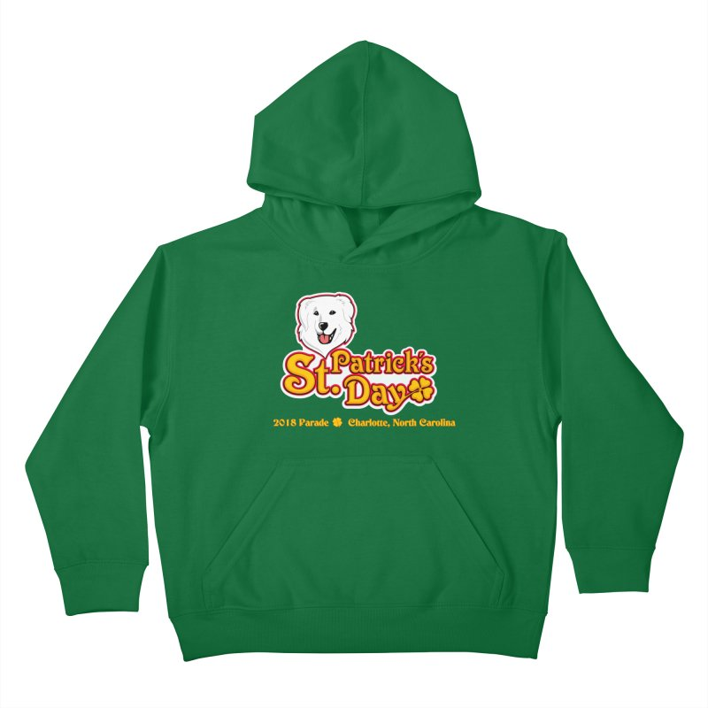 Parade 2018 Kids Pullover Hoody by Carolina Great Pyrenees Rescue's Shop