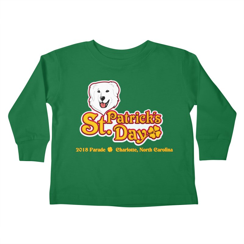 Parade 2018 Kids Toddler Longsleeve T-Shirt by Carolina Great Pyrenees Rescue's Shop