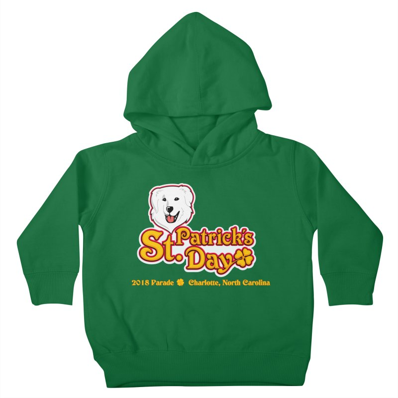 Parade 2018 Kids Toddler Pullover Hoody by Carolina Great Pyrenees Rescue's Shop