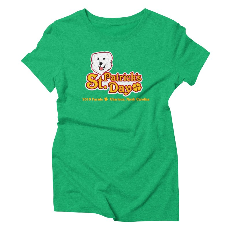 Parade 2018 Women's Triblend T-Shirt by Carolina Great Pyrenees Rescue's Shop
