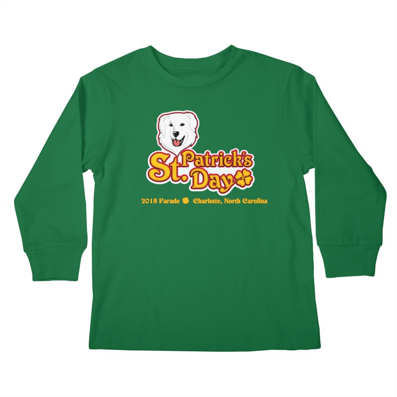 Parade 2018 Kids Longsleeve T-Shirt by Carolina Great Pyrenees Rescue's Shop