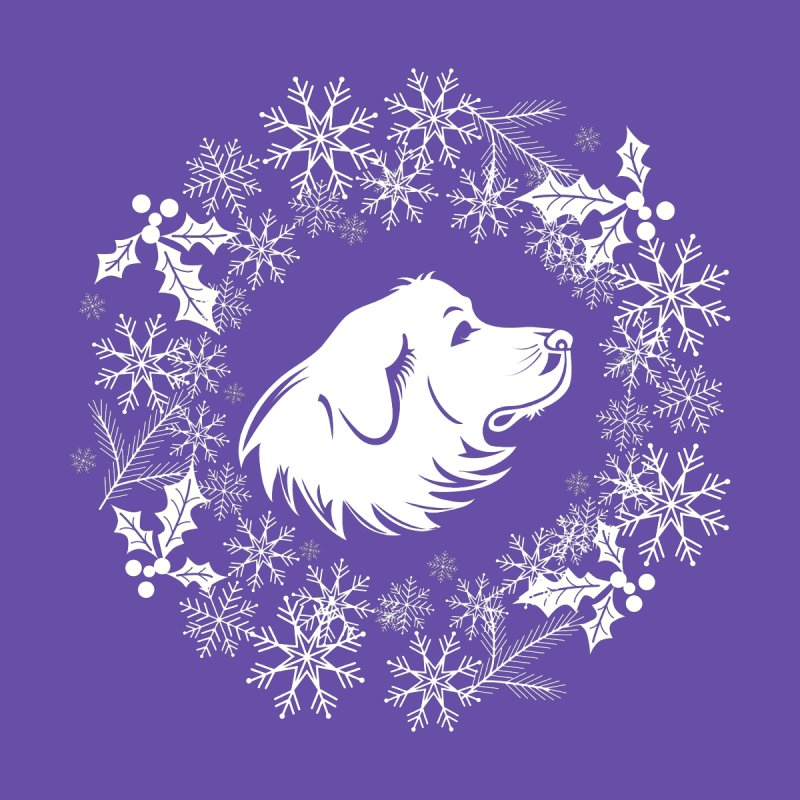 Winter Pyr by Carolina Great Pyrenees Rescue's Shop