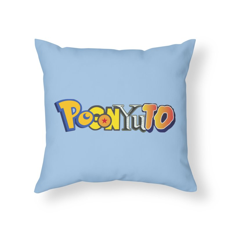 PoGonYuTo - Logo Solo Home Throw Pillow by CHASTUDIOS SHOP