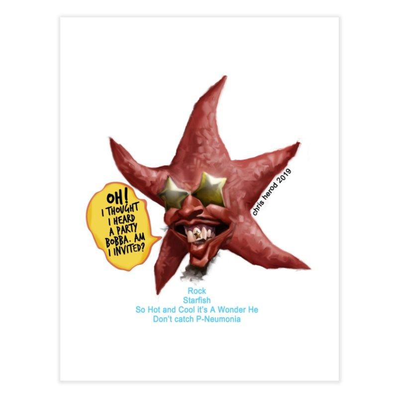 Rock Starfish Home Fine Art Print by Chris Herod