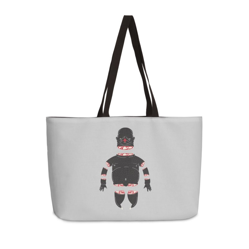 Chicken Meathead Accessories Weekender Bag Bag by CHRISRW's Artist Shop
