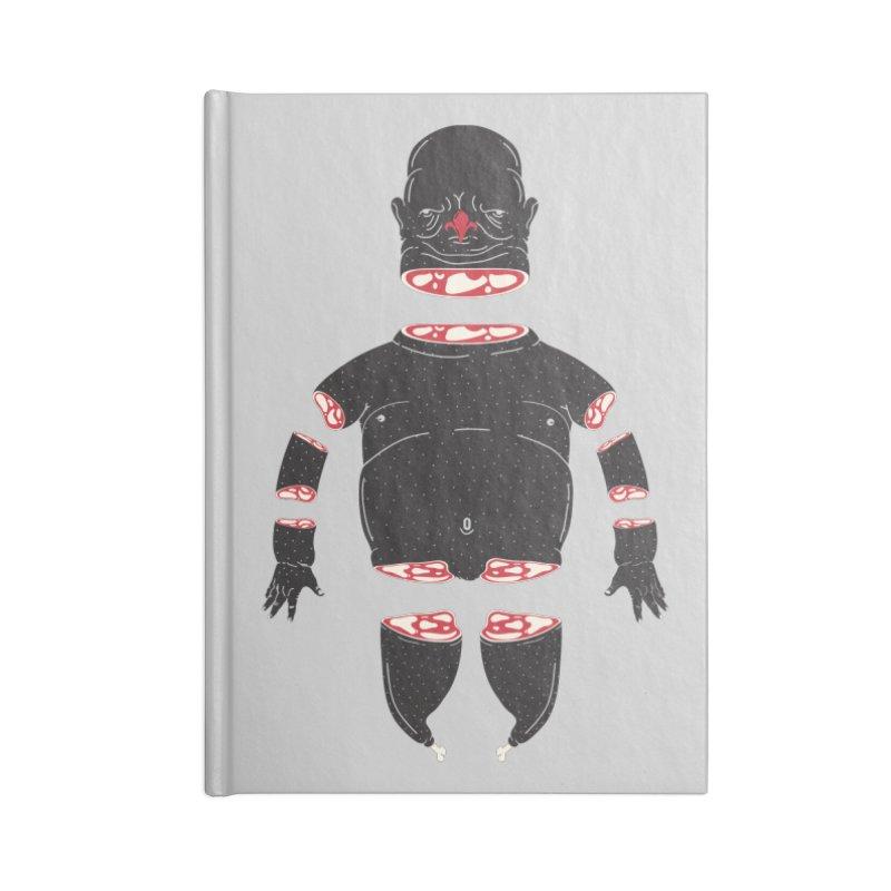 Chicken Meathead Accessories Lined Journal Notebook by CHRISRW's Artist Shop