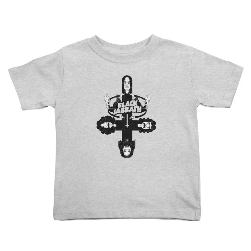 Sabbath Shirt Kids Toddler T-Shirt by CHRISRW's Artist Shop