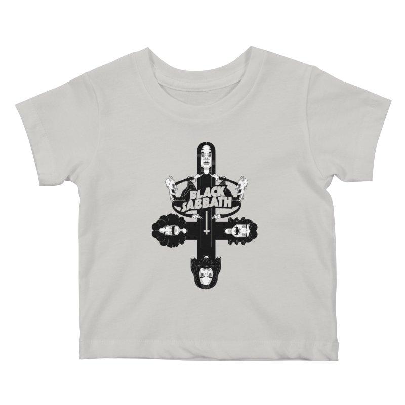 Sabbath Shirt Kids Baby T-Shirt by CHRISRW's Artist Shop