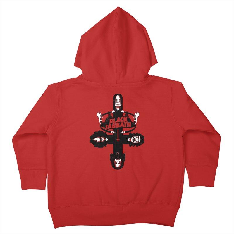Sabbath Shirt Kids Toddler Zip-Up Hoody by CHRISRW's Artist Shop