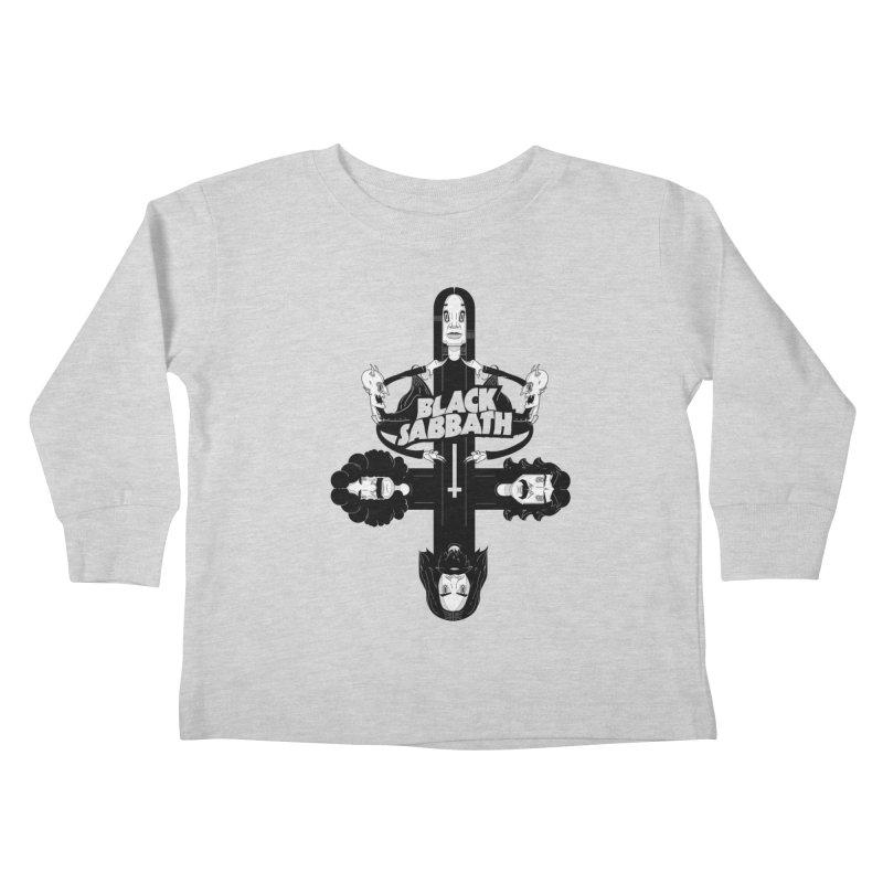 Sabbath Shirt Kids Toddler Longsleeve T-Shirt by CHRISRW's Artist Shop