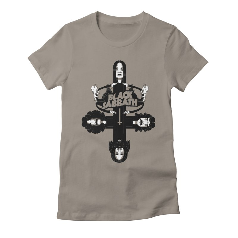 Sabbath Shirt Women's Fitted T-Shirt by CHRISRW's Artist Shop