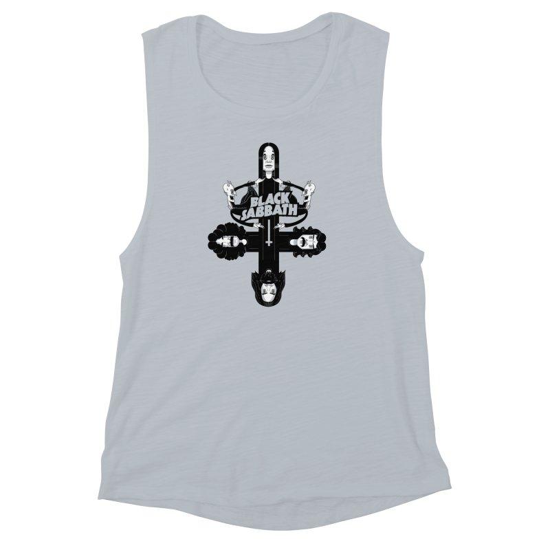 Sabbath Shirt Women's Muscle Tank by CHRISRW's Artist Shop